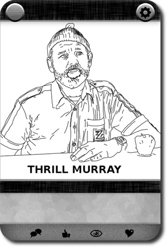 thrill murray a bill murray coloring book carddit - Thrill Murray Coloring Book