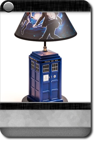 Home office doctor who tardis table lamp carddit mozeypictures Gallery