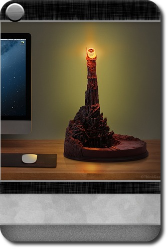 Interests : Eye of Sauron Desk Lamp | Carddit