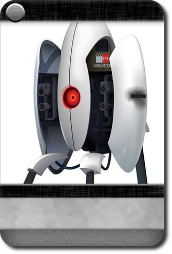 Home  Office  Portal  Wall Decals Carddit - Portal 2 wall decals