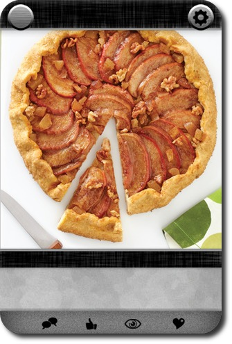 Apple-Walnut-Ginger Galette | Carddit